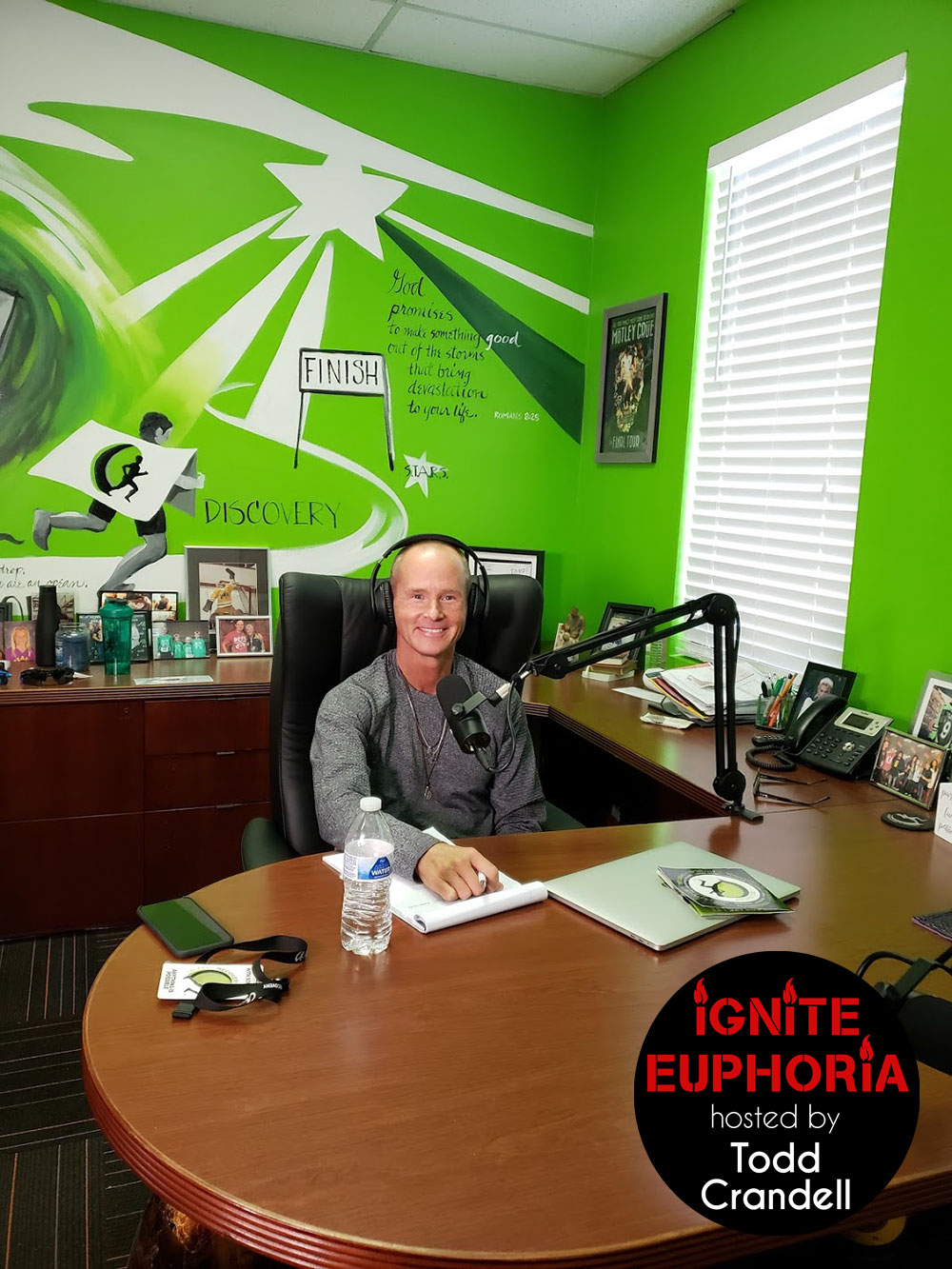 Ignite Euphoria Podcast Desk